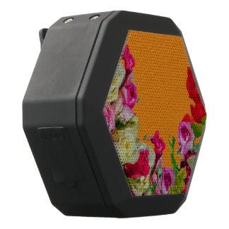 Schöne abstrakte mit Blumenorange Schwarze Bluetooth Lautsprecher
