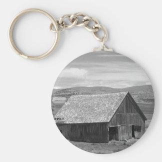 Schöne alte Scheune Schlüsselanhänger