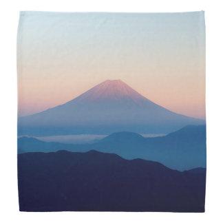 Schöne Ansicht der Fujisan, Japan, Sonnenaufgang Halstuch