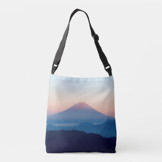 Schöne Ansicht der Fujisan, Japan, Sonnenaufgang Tragetaschen Mit Langen Trägern