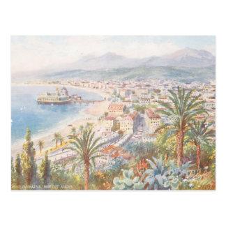 Schöne Ansicht von Nizza Frankreich Postkarte