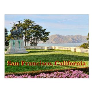 Schöne Ansicht von San Francisco Bay Postkarte
