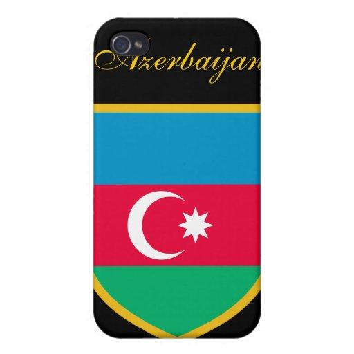 Schöne Aserbaidschan-Flagge Etui Fürs iPhone 4