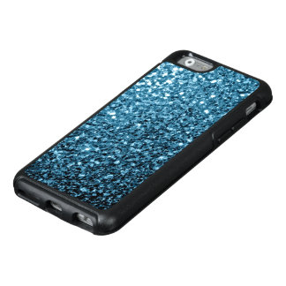 Schöne Babyblau-Glitter-Glitzern OtterBox iPhone 6/6s Hülle