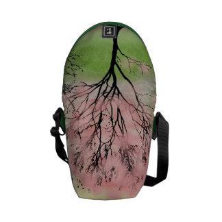 Schöne Baum-Bote-Tasche Kuriertasche