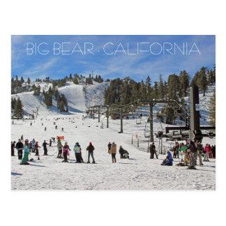 Schöne Big Bear Postkarte! Postkarten