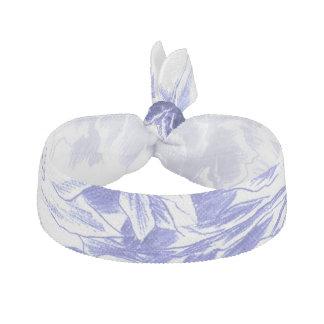 Schöne blaue Pfingstrose Haarschleife