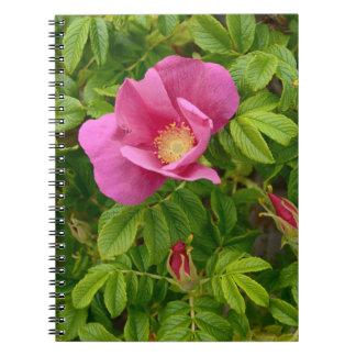 Schöne Blume im Märchenland Notizblock