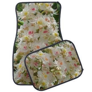 Schöne Blumen-Auto-Boden-Matten (volles Set) Autofußmatte