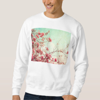 Schöne Blumen in der retro Art Sweatshirt