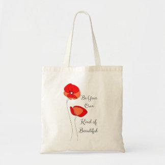 Schöne BlumenTaschen-Tasche Budget Stoffbeutel