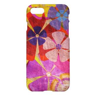 schöne bunte Blumenvektorkunst iPhone 8/7 Hülle