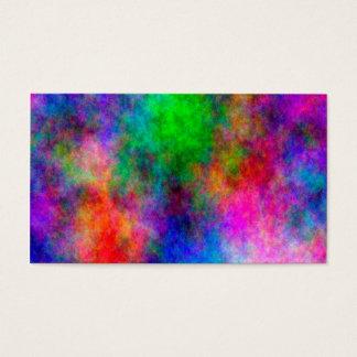 schöne bunte Kunst-Stoffeffekte Visitenkarten