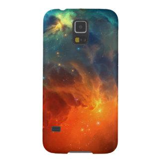Schöne bunte Nebelfleck-Sterne Samsung Galaxy S5 Hülle