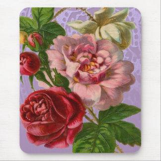 Schöne bunte Rosen Mauspad