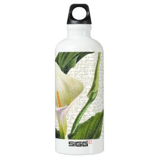 Schöne Calla-Lilien Aluminiumwasserflasche