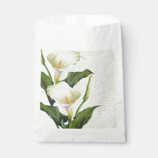 Schöne Calla-Lilien Geschenktütchen