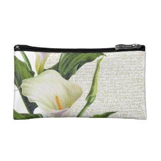 Schöne Calla-Lilien Makeup-Tasche