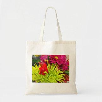 schöne Chrysantheme Tragetasche