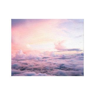 Schöne Cloudscape Leinwand