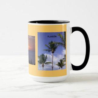 Schöne Drei-Bild Florida-Geschenk-Tasse Tasse
