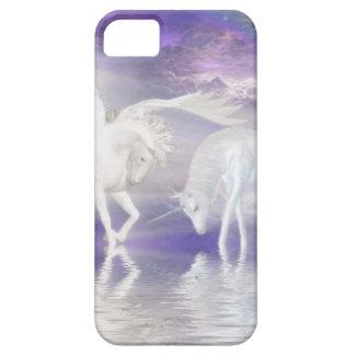 Schöne Einhorn-und Pegasus-Fantasie iPhone 5 Cover