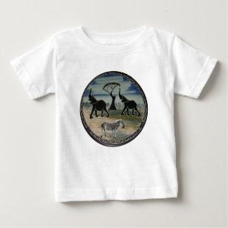 Schöne elegante wild lebende Tiere Afrikas Kenia Baby T-shirt