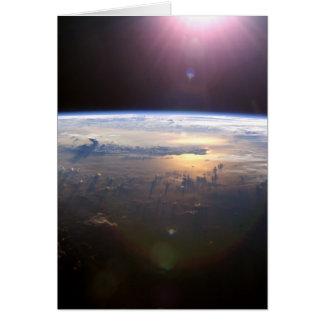 Schöne Erde Yuri Gagarin Karte
