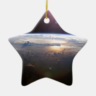 Schöne Erde Yuri Gagarin Keramik Ornament
