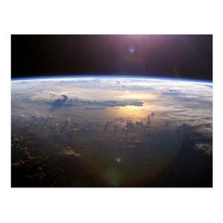 Schöne Erde Yuri Gagarin Postkarte