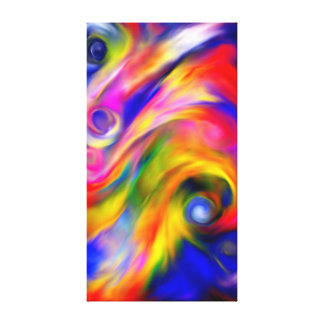 Schöne Farben Leinwanddruck