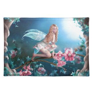 Schöne feenhafte Prinzessin Tischset