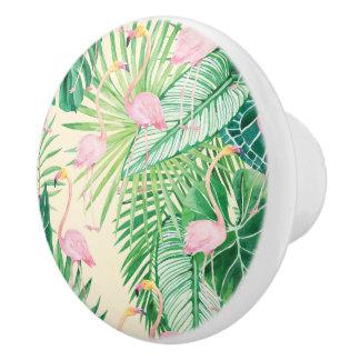 ★ schöne Flamingos Keramikknauf