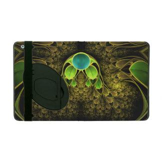Schöne Fraktal-Federn des Quetzal-Vogels Schutzhülle Fürs iPad