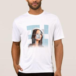 Schöne Frau T-Shirt