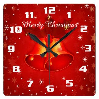 Frohe weihnachten wanduhren designs zazzle de