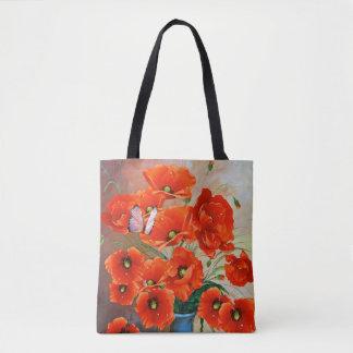 Schöne Frühlings-Blumentasche Tasche