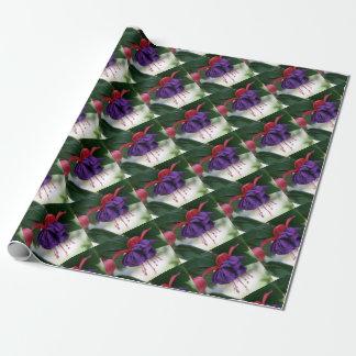 Schöne Fuchsie Geschenkpapier