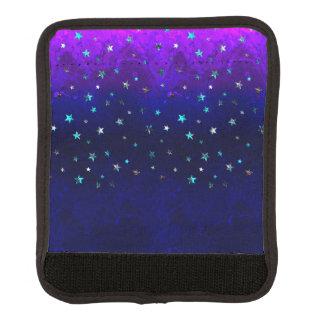 Schöne Galaxie-Nachtsternenklares Bild des Raumes Gepäck Markierung