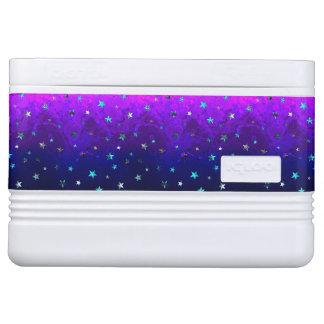 Schöne Galaxie-Nachtsternenklares Bild des Raumes Kühlbox