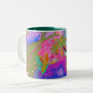 Schöne Garten-Tassen-Veränderung Zweifarbige Tasse