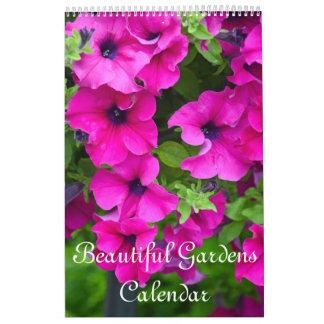 Schöne Gärten und Blumen Abreißkalender