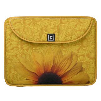 Schöne gelbe Sonnenblume-MacBook Pro-Hülse Sleeve Für MacBook Pro