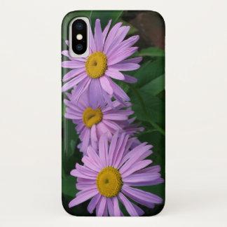 Schöne gemalte Gänseblümchen iPhone X Hülle