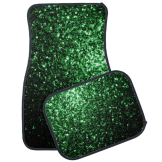 Schöne Glamour-Grün-Glitter-Glitzern Automatte