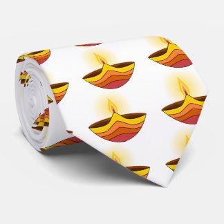 Schöne glühende Diwali Lampe Individuelle Krawatten