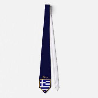 Schöne Griechenland-Flagge Bedruckte Krawatte