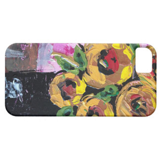 Schöne helle Blumen Etui Fürs iPhone 5
