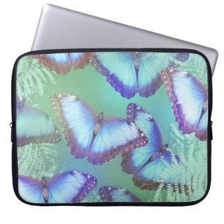 Schöne helle Schmetterlinge Laptopschutzhülle