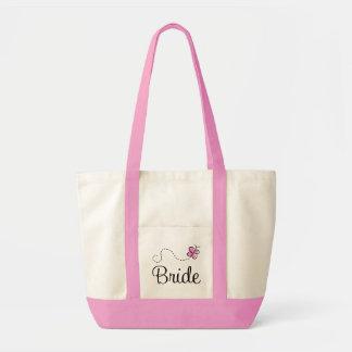 Schöne Hochzeits-Tagesbraut-Taschen-Tasche Impulse Stoffbeutel